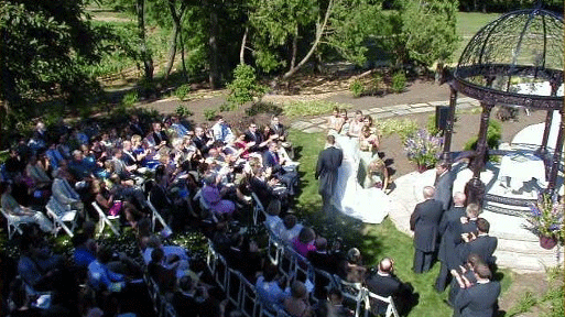 Cameron Estate Inn Outdoor Wedding